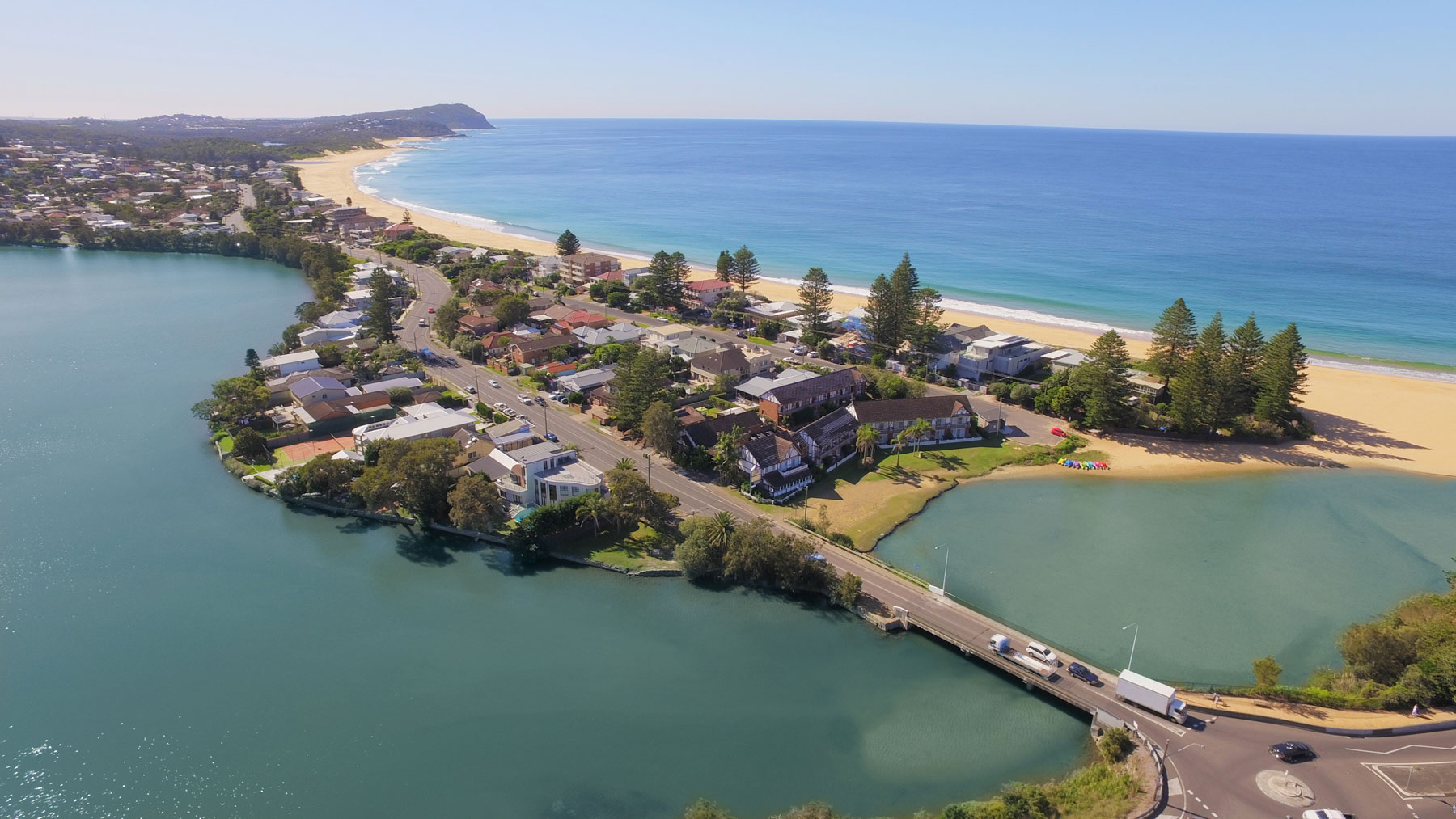 The Clan Terrigal Arial Shot